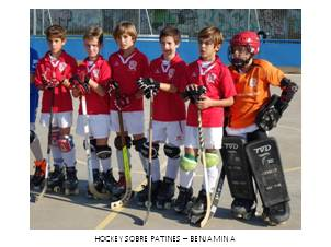 HOCKEY PATINES BEJNAMIN A